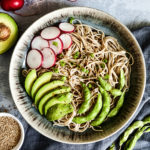 Soba noodles Salad with sesame oil