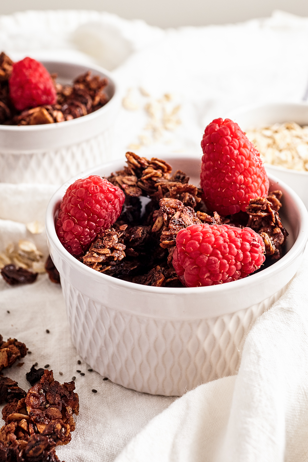 Super Power chocolate granola