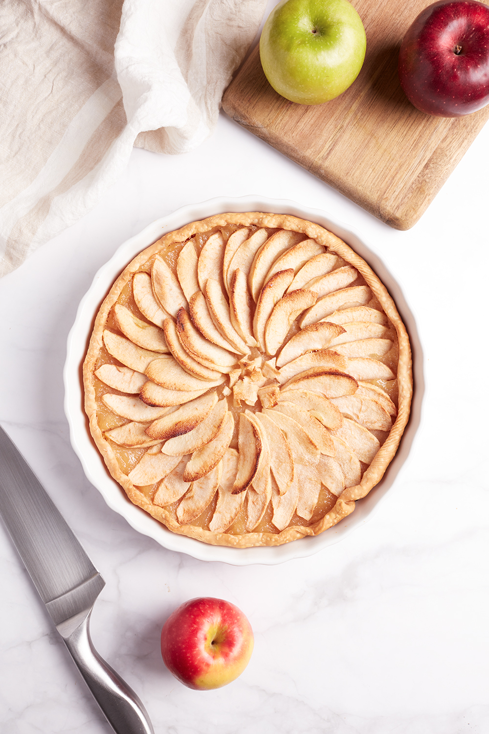 French Apple Tart Tasty And Frenchy
