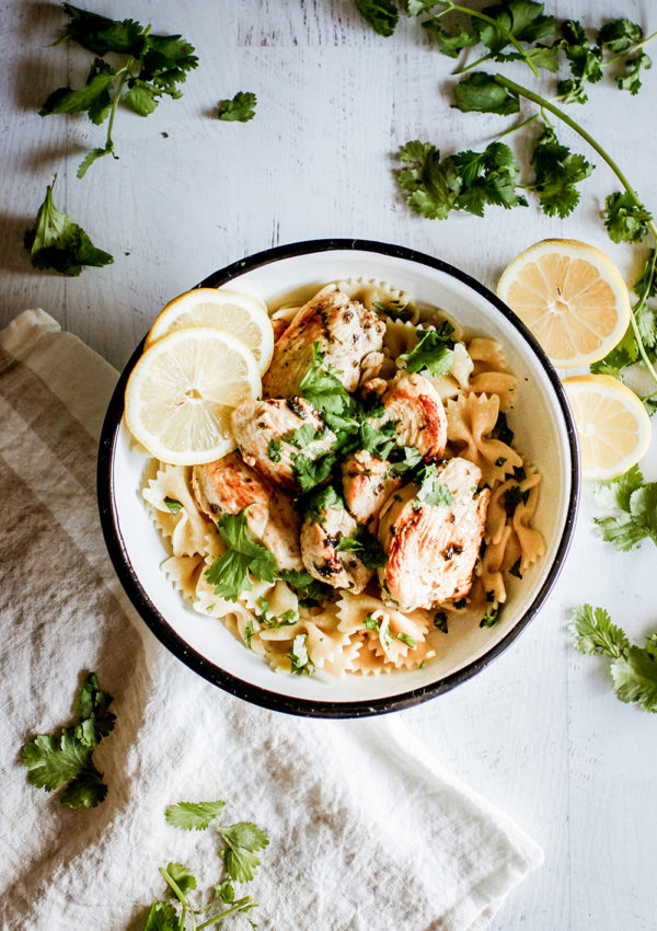 Lemon and herbs chicken
