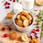 Rosemary and thyme roasted potatoes