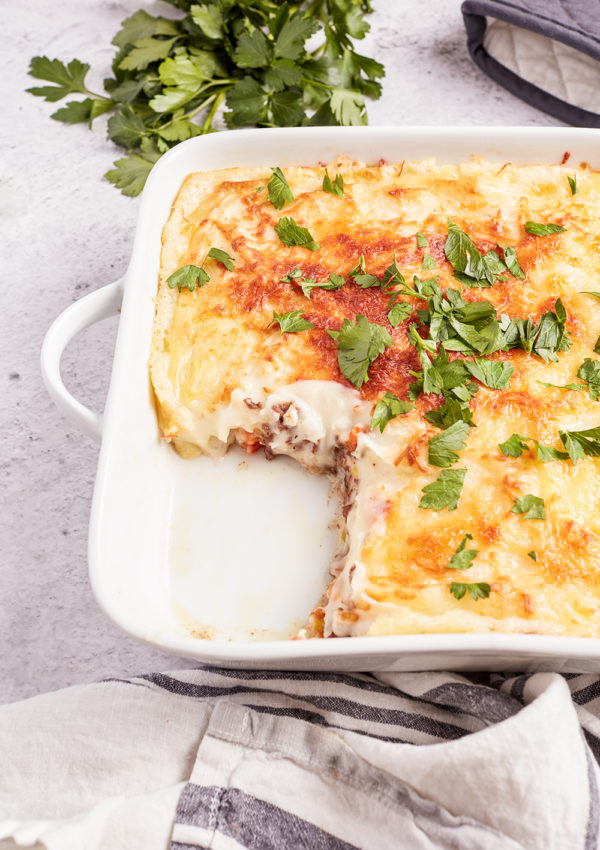 Hachis Parmentier – French meat and potatoes gratin